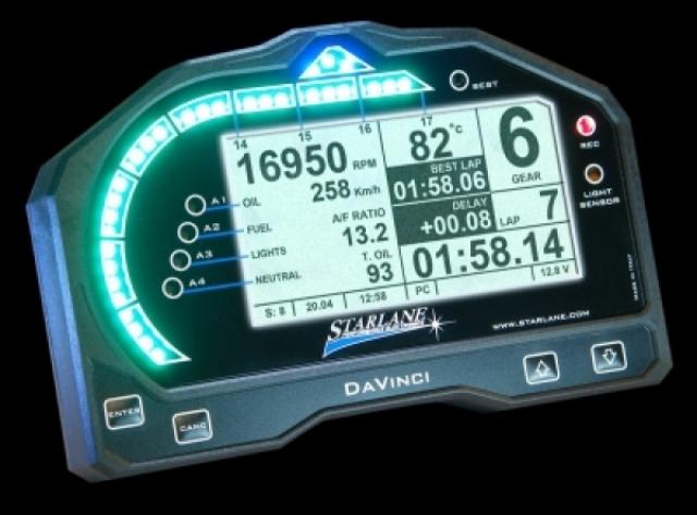 Starlane Dashboard DaVinci S BMW S1000RR 2009 2014