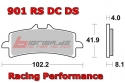 SBS 901DS Racing Dual Sinter Bremsbelag Front
