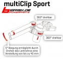 ABM multiClip Sport Kit Ø55/0-40mm BMW S1000 RR (2015-xxxx)